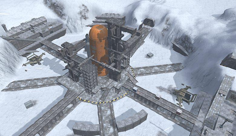 バトオペ2 マップ ステージ 北極基地 (1)