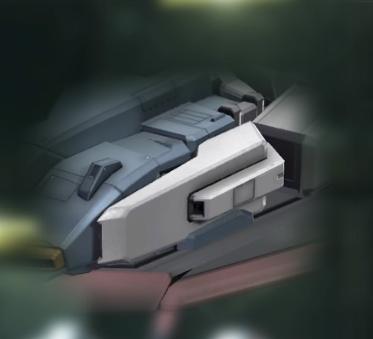 バトオペ2 Zガンダム 変形時 武装 ビームガン2-2