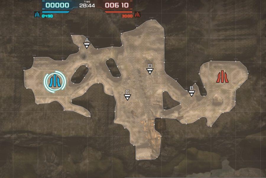 バトオペ2-基礎マップ-墜落跡地