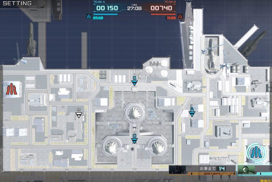 バトオペ2-基礎マップ-港湾基地