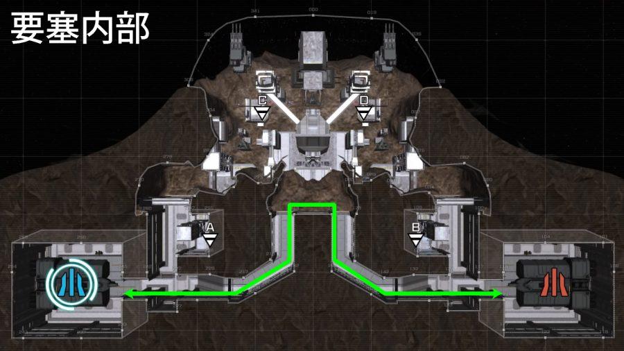 バトオペ2-要塞内部 ステルス 裏取り