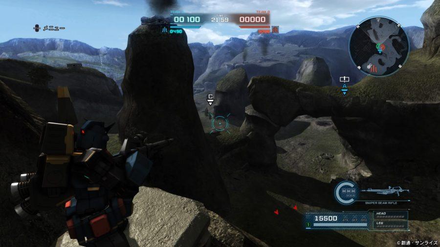 山岳地帯 狙撃ポイント4