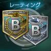 レーティングランク-レート-B