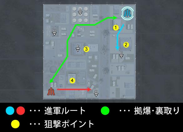 バトオペ2 ステージ マップ 攻略 軍事基地